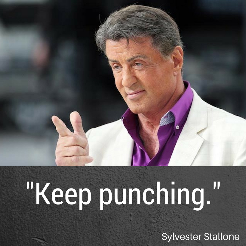 Sylvester Stallone was born