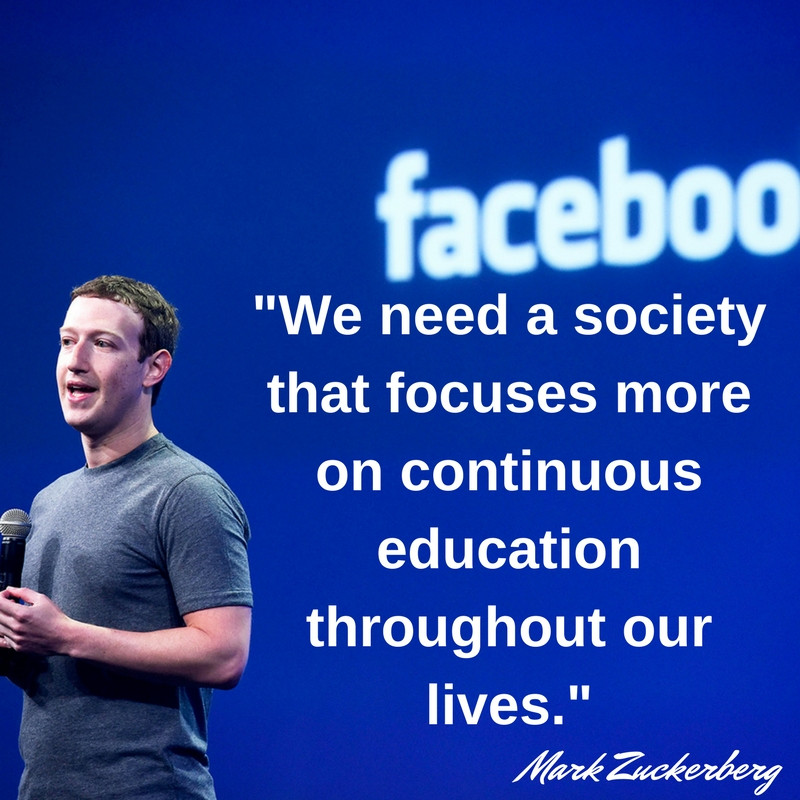 Motivational Mark Zuckerberg Quotes