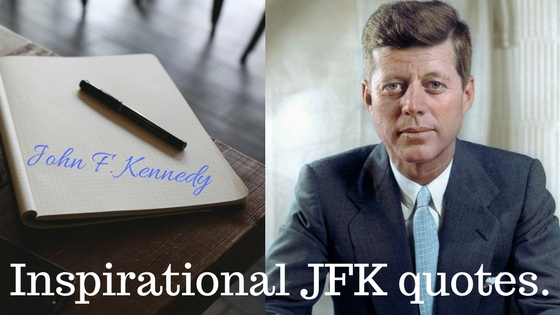 Inspirational JFK quotes