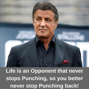 How old is Sylvester Stallone?
