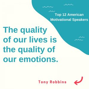 Tony Robbins motivational speakers
