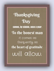 Great Thanksgiving Quotes