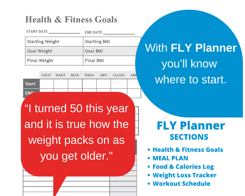 FLY Planner (Health & Fitness Goals