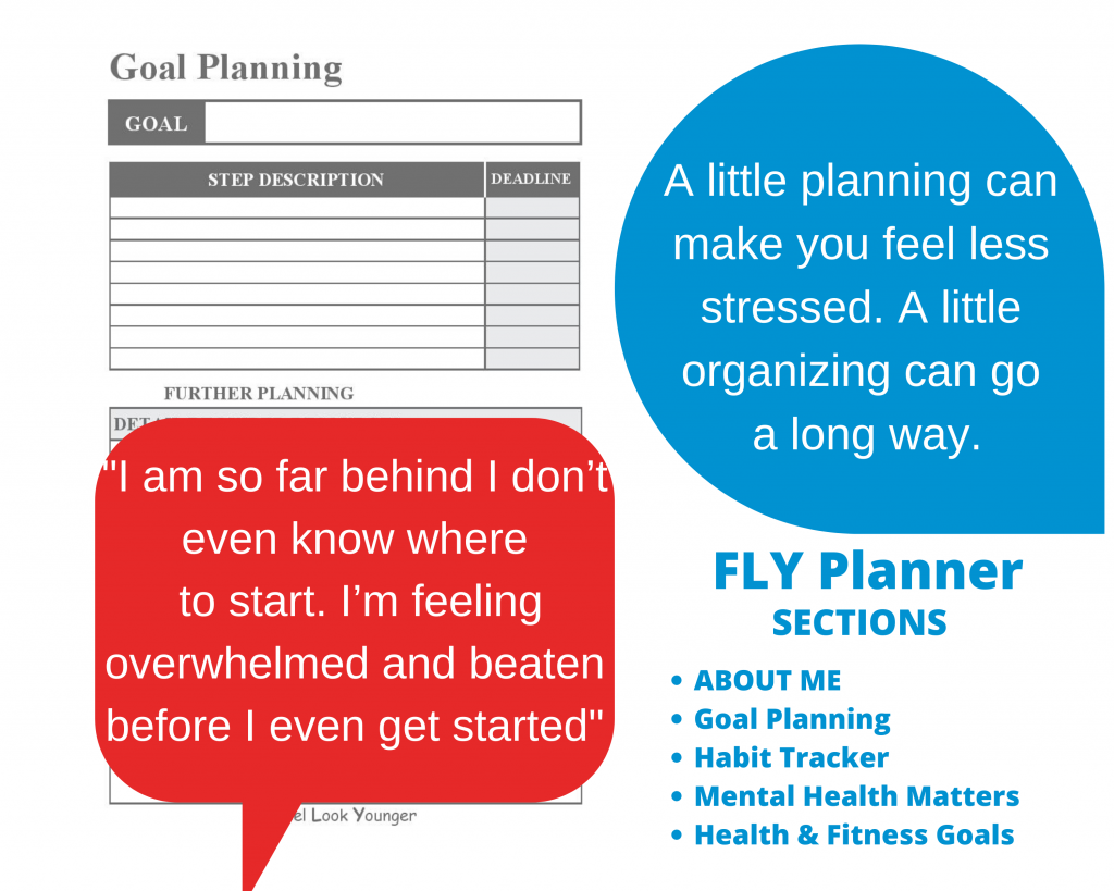 FLY Planner: 10 Things To Do To Stay Young